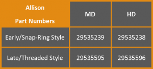 allison part numbers