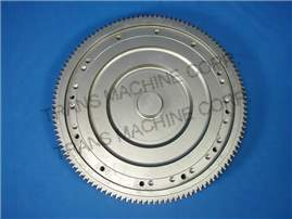 23017566 Flywheel, L10 Cummins Application - Ring Gear Back